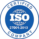 Certified ISO 27001 2013